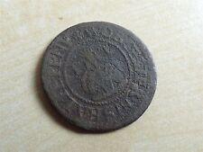 HIS Half Penny John Turbervile Worcester Trade Token 17th Century (myrefn11167)