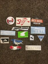 13 Fly Fish Fishing Stickers! Sage Simms Typhoon Old Town Diablo Orvis