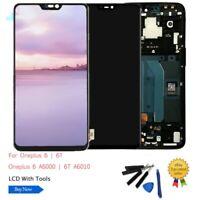 Pour OnePlus 6 6T 7 LCD Écran tactile Digitizer Assemblée Remplacement AR02FR