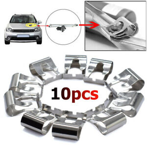 10X Windshield Wiper Linkage Motor Repair Clip For Mazda Audi VW Jeep Metal