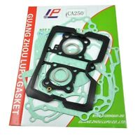 For Honda CA250 CMX250 Rebel Full Complete Engine Gasket Set Kit