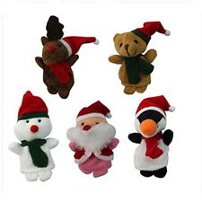 Lovely Baby Cartoon Cloth Educational Hand Finger Puppets Doll Christmas