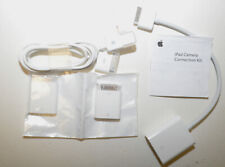 Genuine Apple iPad Camera Connection Kit MC531ZM & A1368 Apple 30 Pin VGA Cable