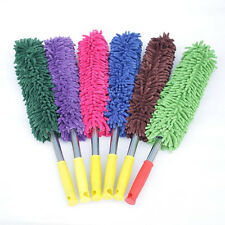 Car Cleaning Duster Chenille Mop Waxing Washing Brush Handle Plush Dust Remover