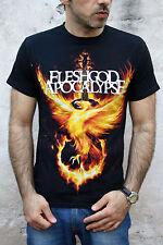 FLESHGOD APOCALYPSE death metal MUSIC Italy  BLACK COTTON T SHIRT TOP S