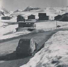 MORIOND c. 1960 - Citroën 2 CV Entrée du Village Station de Ski Savoie - NV 489