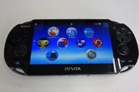 PlayStation PS VITA Console Wi-Fi Model Crystal Black PCH-1000 ZA01 Japan Used