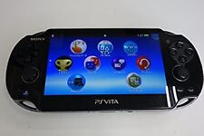 PlayStation PS VITA Console Wi-Fi Model Crystal Black PCH-1000 ZA01 Japan Used