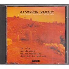 GIOVANNA MARINI LUCILLA GALEAZZI La vie au-dessus CD FRANCE 1994 COME NUOVO (L)