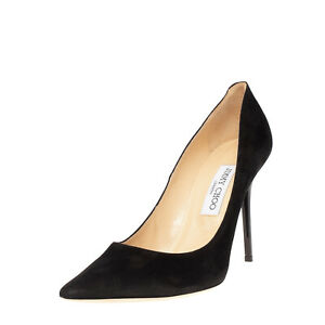 LEFT SHOE ONLY RRP €485 JIMMY CHOO Leather Court Shoes EU 39.5 UK 6.5 US 9.5