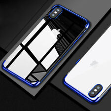 For iPhone Xs Max Xr X 8 7 6S Plus 5/SE Shockproof Clear Slim Soft TPU Case Cove