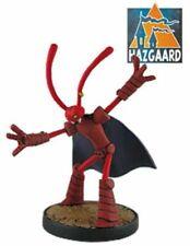 Figurine métal Donjon Marvin Rouge en Armure Hazgaard