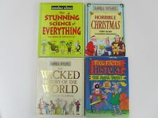 HORRIBLE HISTORIES/SCIENCE & FOUL FACTS Hardback Books x4
