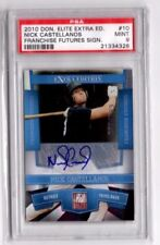 2010 Elite Extra Edition #10 Nick Castellanos RC AUTO PSA 9 Mint Detroit Tigers