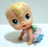 BABY ALIVE Crib Life Sarina Doll With Ballerina Dress Hasbro 2010 Toy Doll