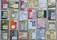 24 Sympathy Get Well Thinking of You handmade cards envelopes Stampin' Up! +