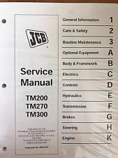 JCB Service TM200 TM270 TM300 Manual