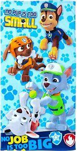 Nickelodeon Paw Patrol Rescue Crew Bath Beach Towel 25 x 50 Chase Rocky Marshall