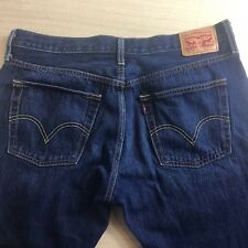 Levi's Jeans 501 30 x 32 CT Custom Tapered Button Fly Mens W30 L32 Vintage Blue
