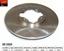 Disc Brake Rotor-Wagon Front Best Brake GP3292