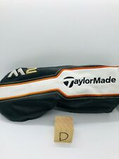 Taylormade M2 Driver Black Orange White Used Good Condition Golf Club Headcover