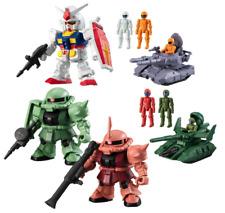 BANDAI GUNDAM Micro Wars 5 type set Japan import NEW Mini Figure