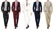 MEN'S 2PC SLIM FIT SUITS - BUSINESS FORMAL WEDDING PARTY - READ DESCRIPTION!!!