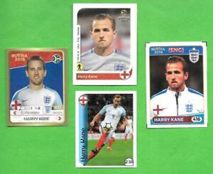 Harry Kane Lot of 4 Southamerican Stickers Unofficial Tottengham England