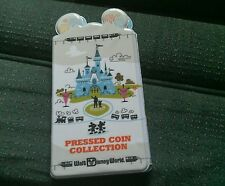 Disney World Pressed Coin Penny Collection Holder Book  New