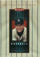 1994 Upper Deck Mantle Heroes #NNO Mickey Mantle/Header Card