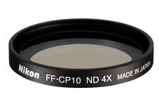 NEW Genuine Nikon FF-CP10 Neutral Density Filter 25654 ND4 for Coolpix 8400
