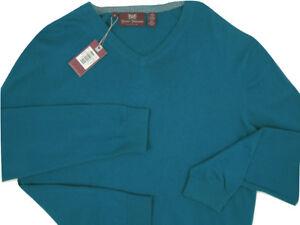 NEW $295 Hickey Freeman Fine Cotton & Silk Sweater!  Soft & Lightweight 4 Colors