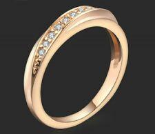 Anastasia Wedding Band AAA Swarovski CZ/Rose Gold