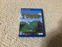 Terraria PS Vita japanese game set japan