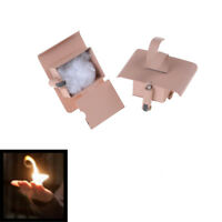 2Pcs Conjure Up Fire Flame Hand Gimmicks Close Up Stage Magic Trick.FR
