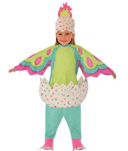 Pengualas Hatchimal Pink & Teal Child Costume Romper & Headpiece Halloween