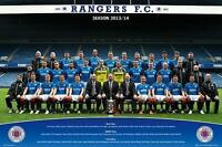 Rangers FC : Team Photo 2013-2014 - Maxi Poster 91.5cm x 61cm new and sealed