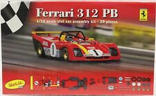 SLOT IT SIKF01Z FERRARI 312 PB WHITE BODY KIT NEW 1/32 SLOT CAR KIT