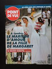 Point de Vue N°2399 mariage lady sarah armstrong jones 1994