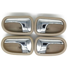 4Pcs Left Right Inside Interior Door Beige handle for Mazda PROTEGE 323 95-03