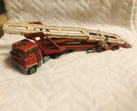 vintage corgi major carrimore 4 car transporter scammel toy model diecast