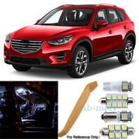 For Mazda CX5 CX 5 2011-2016 LED Interior Kit Premium 9 SMD Bulbs Xenon White
