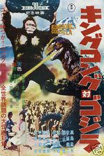 King Kong Vs. Godzilla Horror Movie poster print