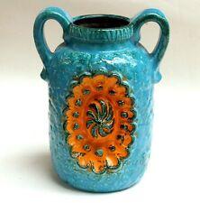 Relief Vase,70er,Dümler & Breiden,stunning ceramic 70's,german pottery,mod.51/25