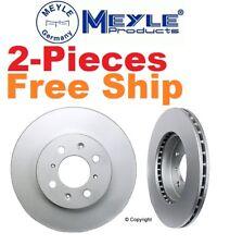 2-Pieces Meyle GeoMet Front Disc Brake Rotors