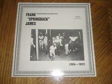 FRANK SPRINGBACK JAMES / 1934-1937 COMPLETE ~ Import Album ~ NEW