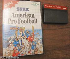 Sega Sports American Pro Football con box custodia 7020 made in japan 1989 vendo