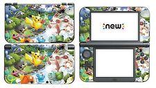 Pikachu 047 Vinyl Decal Skin Sticker Game for Nintendo New 3Ds Xl 2015