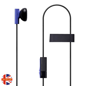 Official Sony Playstation 4 PS4 Mono Chat Earbud Earphone with Mic Headset