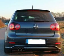 VW GOLF V 5 R32 Diffusor heckdiffusor Heckansatz Rear Carbon Look